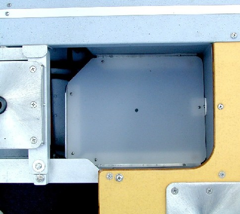 Rear Trackle Tray Compartment