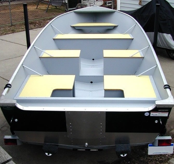 Boat Conversion -- Lund SSV-18 to Dream Walleye Boat