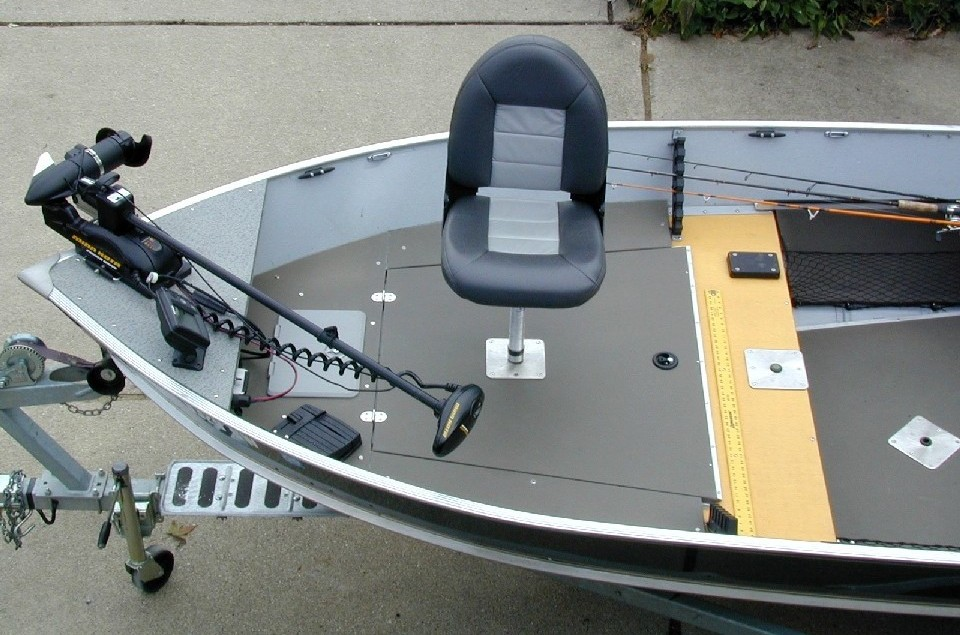 Walleye Boat Front