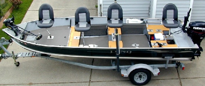 Boat Conversion Lund SSV 18 To Dream Walleye Correll