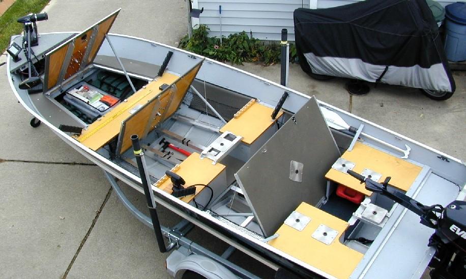 Boat Conversion Lund SSV 18 To Dream Walleye