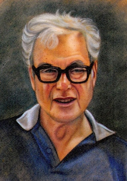 Painting of Mel Correll